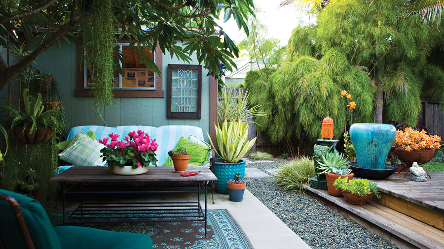 23 Small Yard Design Solutions - Sunset Magazine - Sunset ... on Landscape Design Small Area id=32740