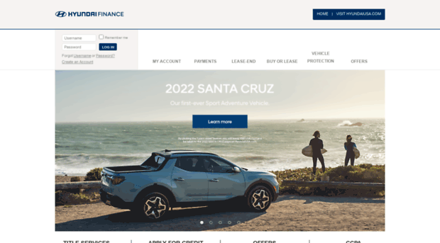 Hmfusa Com Hyundai Motor Finance