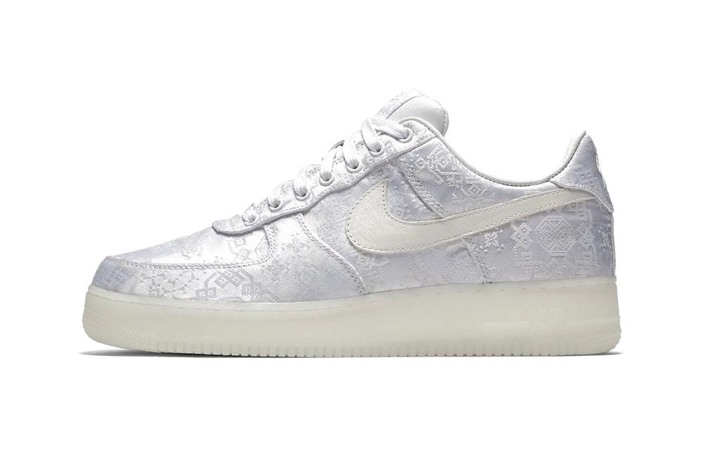 CLOT x Nike Air Force 1全新「白絲綢」版本即將登場! | 潮流集合 #Tagpopular