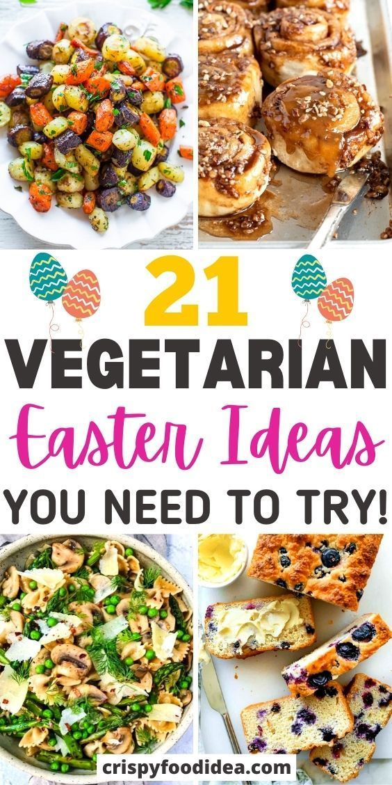 vegetarian easter recipes