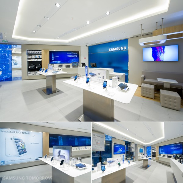Samsung 'Mobile Store' opens in Paris - TalkAndroid.com