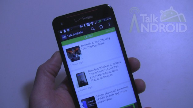 The TalkAndroid app is now available in the Google Play Store