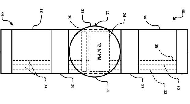 Patent filed for Google smartwatch with touchpad functions