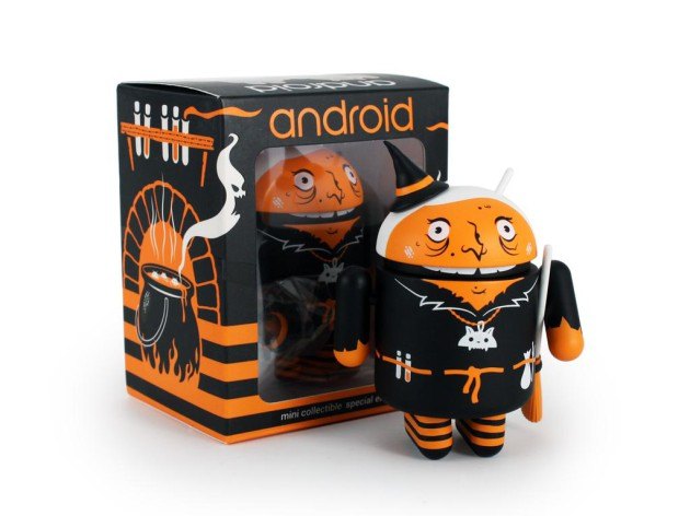 andrew_bell_dead_zebra_halloween_witch_android_figurine
