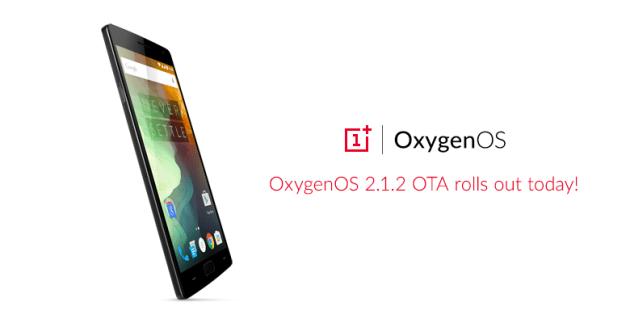 OnePlus 2_Oxygen OS_2.1.2_update_111315