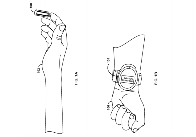 google_needle_free_blood_draw_patent