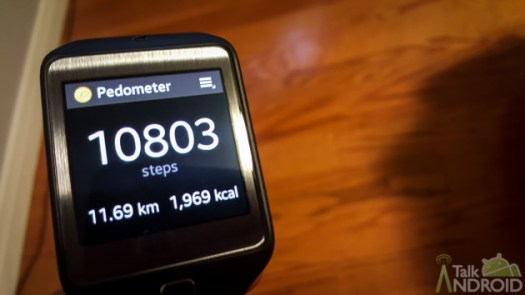 samsung step counter gear 2 neo