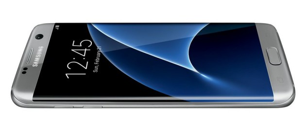 Samsung Galaxy S7 edge render