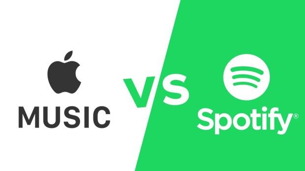 Apple Music dan Spotify Bersitegang