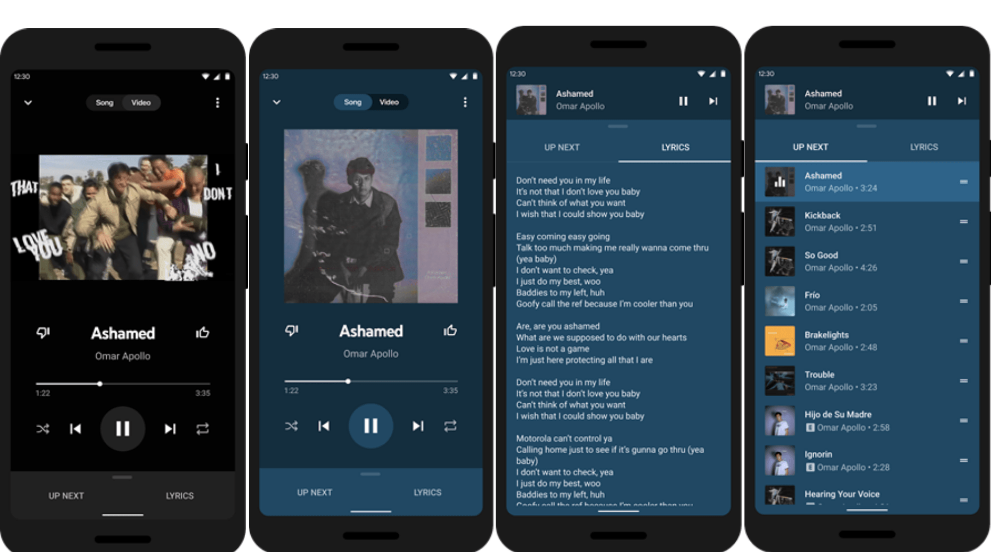 Youtube Music App Gets An All New Playback Interface And Experimental Lyrics Feature Talkandroid Com
