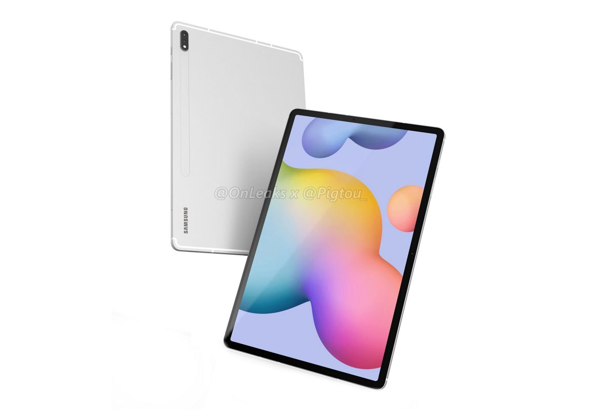 Download The Wallpapers From Samsung S Galaxy Tab S7 Here Talkandroid Com