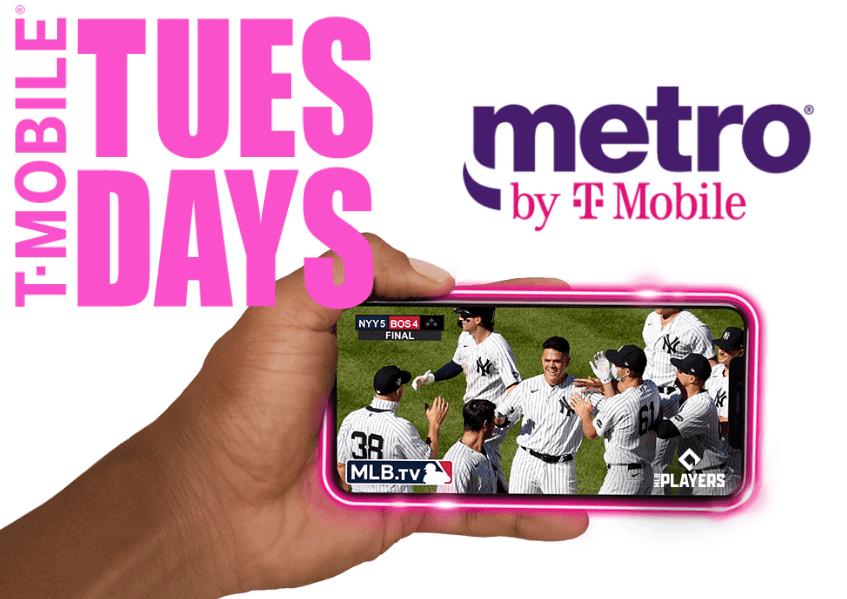 T-Mobile às terças-feiras
