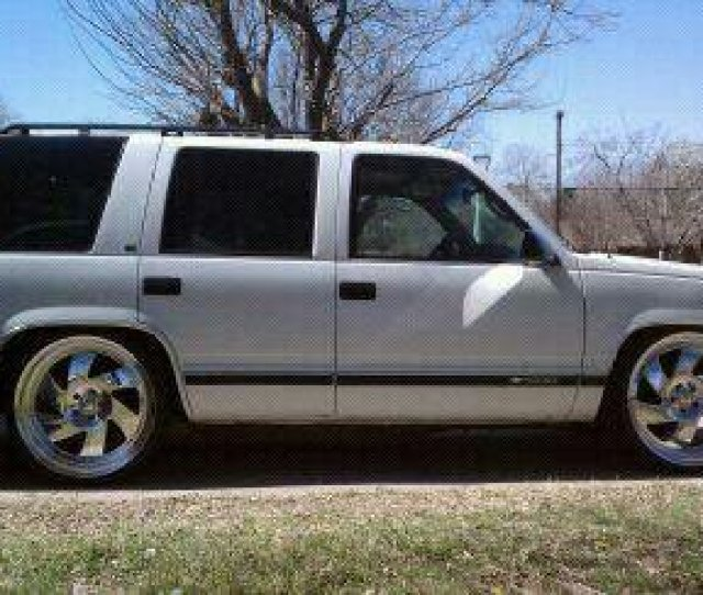 96 Tahoe Bag And Body Drop On 24x10 Centerlines