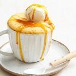 Golden Syrup Microwave Mug Cake Recipe