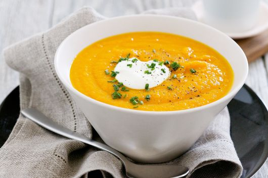 Image result for carrot ginger soup