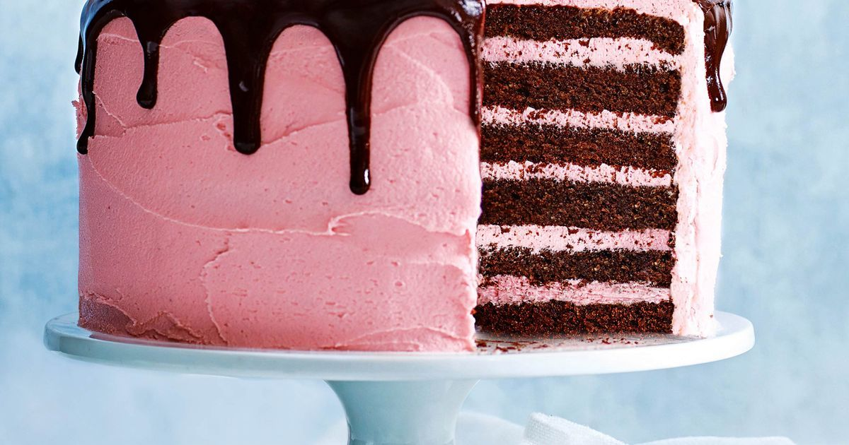 Easy Cake Recipe Raspberry