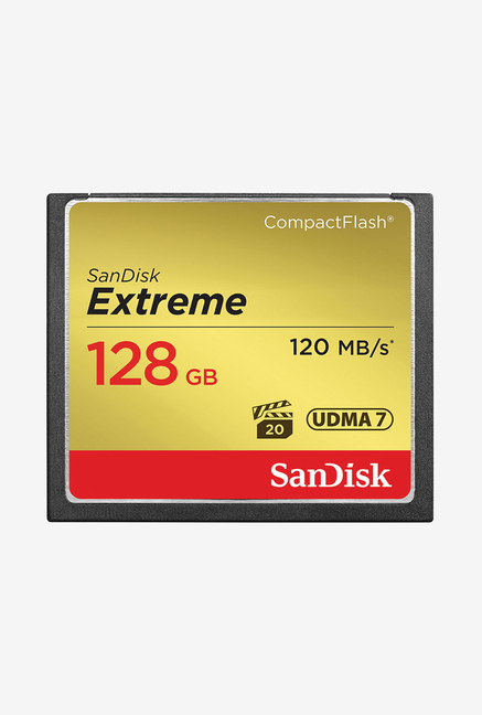 SanDisk SDCFXSB128GG46 Extreme 128 GB Memory Card