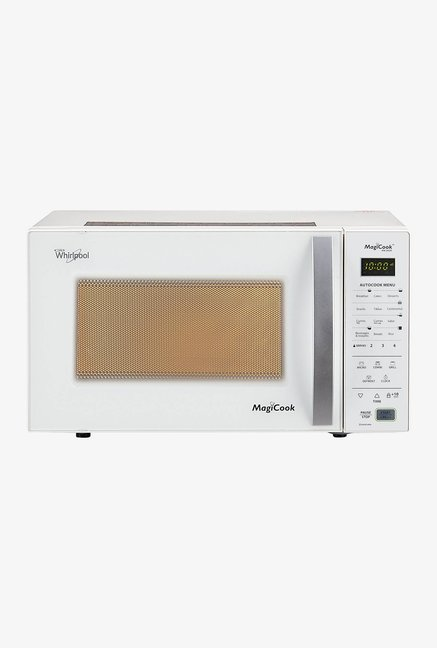 whirlpool magicook 20 gw 20l grill microwave oven white