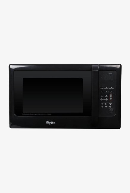 whirlpool mw 30bc 30l convection microwave oven solid black