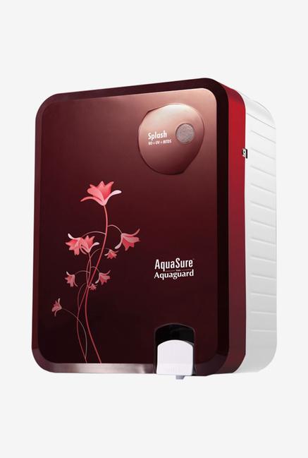 Eureka Forbes Aquasure Splash 6 L RO + UV + MTDS Water Purifier (Burgundy)