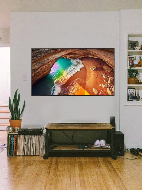 samsung 208 cm 82 inches smart 4k ultra hd qled tv 82q60rak charcoal black 2019 range