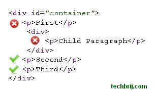 css%20selector%204 Understand +, > and ~ symbols in CSS Selector