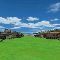 Girls und Panzer, Screenshot, Video Games