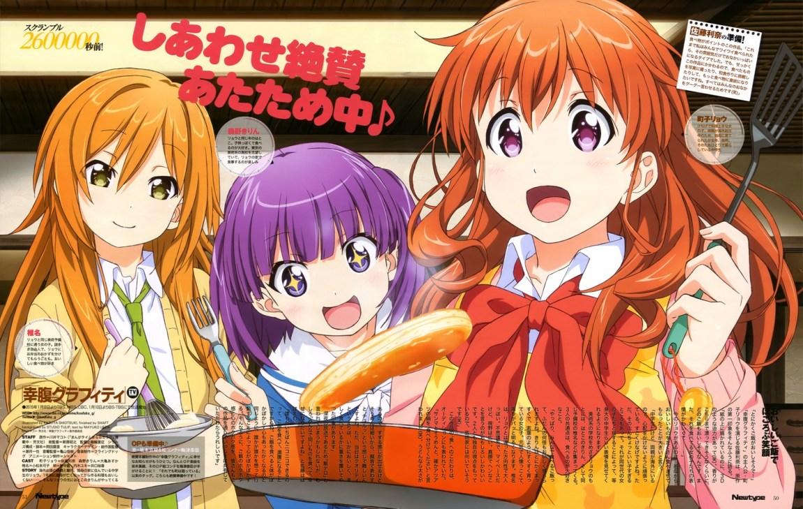 Anime Girl, Magazine