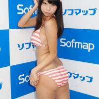 Aoyama Hikaru, Bikini, Press conference