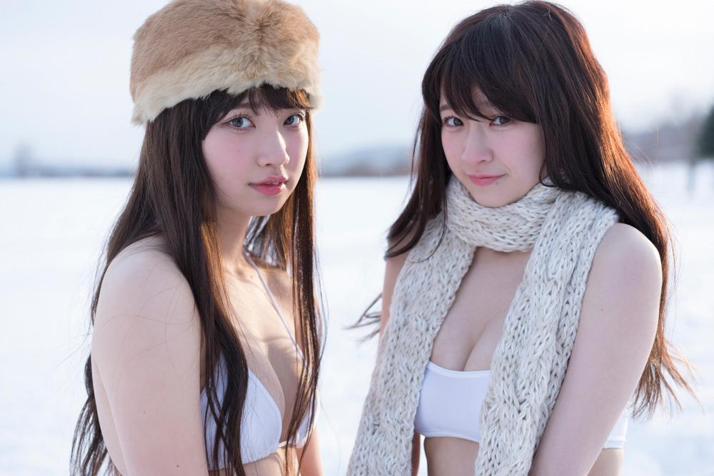 Kaneko Rie (金子理江), Kuromiya Rei (黒宮れい), Weekly Playboy Magazine