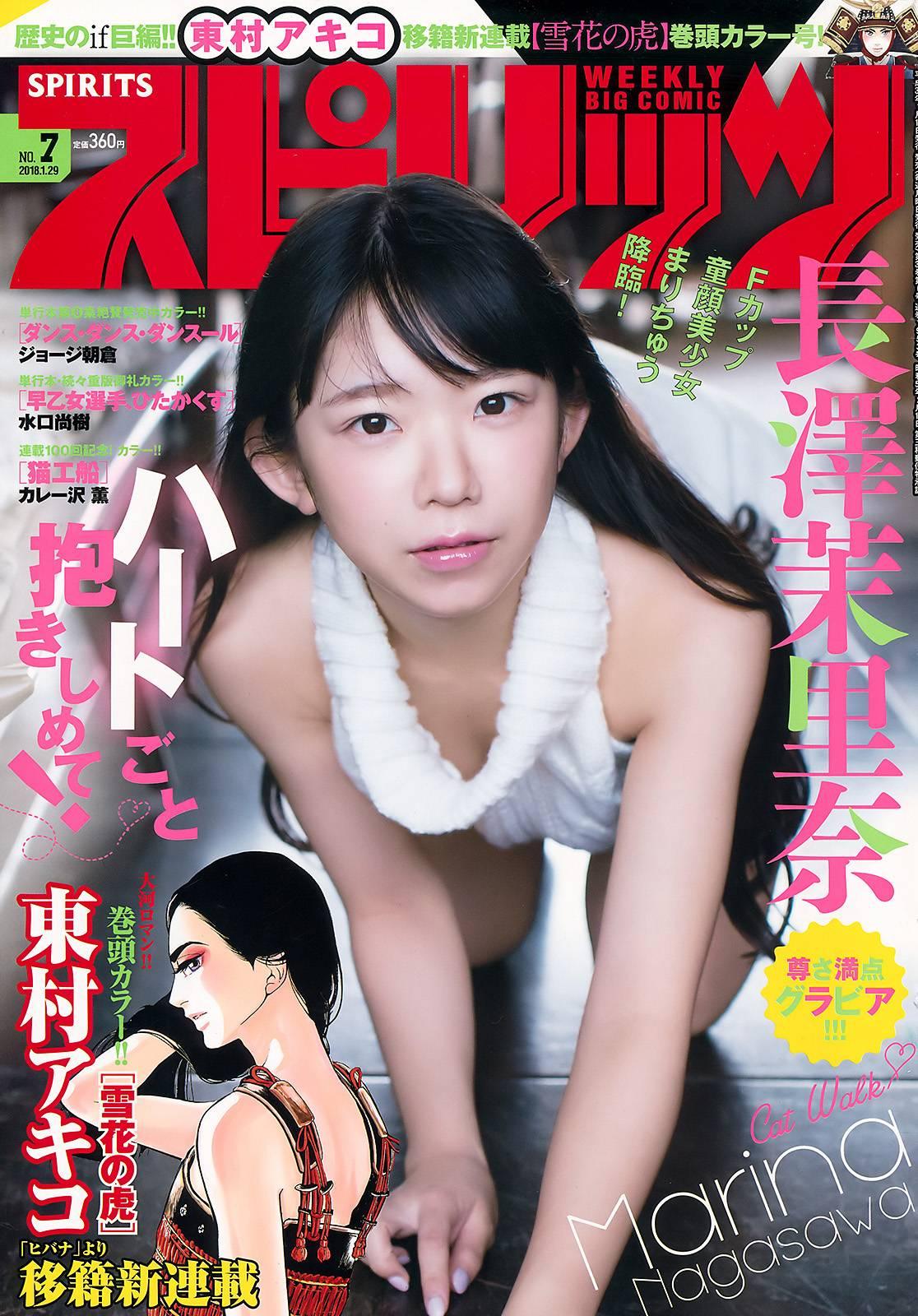 Big Comic Spirits, Magazine, Nagasawa Marina (長澤茉里奈), Oppai