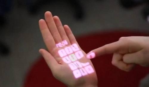 OmniTouch te permite convertir cualquier superficie en interfaz multitouch