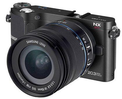 Samsung NX210, nueva cámara digital con Wi-Fi
