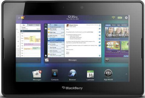 BlackBerry PlayBook 4G LTE está en camino