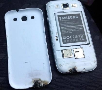 Los Samsung Galaxy SIII no se sobrecalientan, después de todo