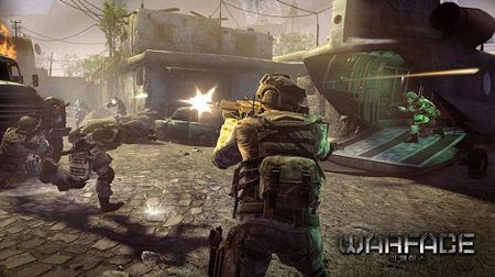 Nuevo avance del Warface de Crytek