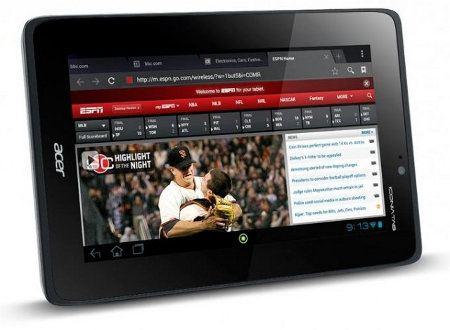 Acer Iconia Tab A110 disponible con Android 4.1 desde el 30 de octubre