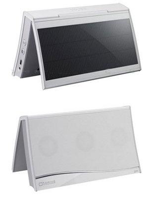 Clarion ZP1 el primer parlante digital portátil equipado con paneles solares