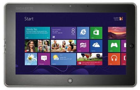 Gigabyte S1082, nuevo tablet de gama alta con Windows 8