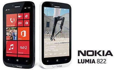 Nokia Lumia 822 será lanzado con WP 8