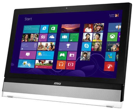 MSI Wind Top AE2712, nueva todo en uno con Windows 8