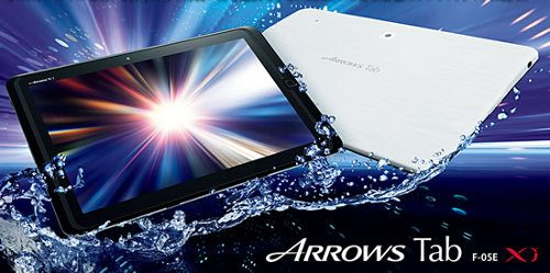 Fujitsu Arrows Tab F-05E, un poderoso tablet Android para el sector del entretenimiento