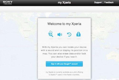 Sony anuncia el servicio my Xperia
