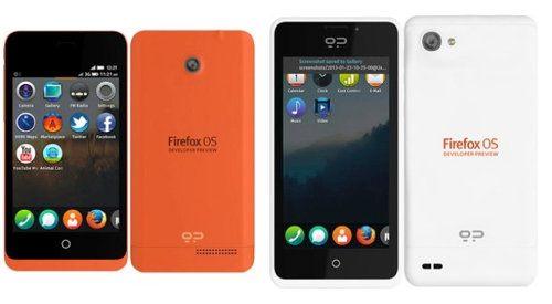 Móviles con Firefox OS para desarrolladores ya están disponibles