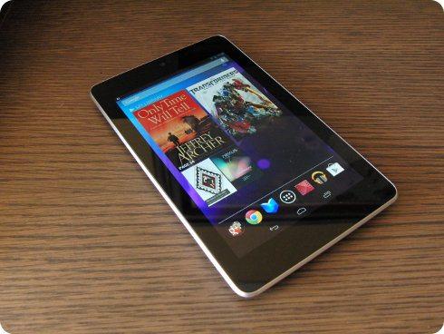 ASUS probablemente no fabricará el Nexus 7 el próximo año