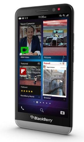 Un vistazo al BlackBerry Z30