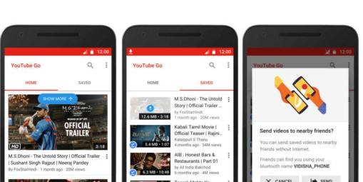 YouTube Go, la app idela para ver videos offline