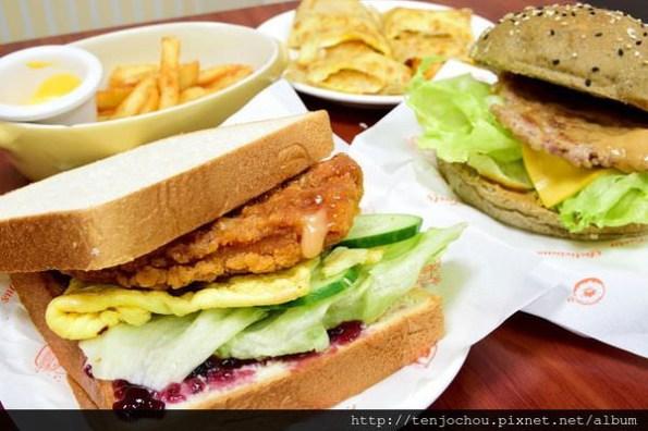 【台北食記】好口福早午餐 超大份量吃一餐飽兩餐!行天宮好吃早餐店推薦