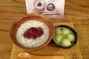 【台南食記】西門大菜市中西區-CHUN純薏仁 一保堂抹茶‧白玉紅豆薏仁