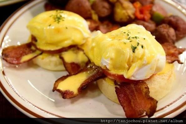 【台北食記】theDiner樂子餐廳 老字號美式早午餐名店!生意怎麼可以這麼好啊!
